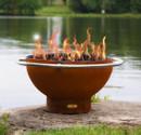 Bella Luna Gas Fire Pit by Fire Pit Art