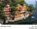 Seaside Villa Canvas Wall Art