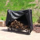 Sunnydaze Heavy Duty Firewood Log Rack Cover, 5 Foot