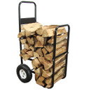 Sunnydaze Firewood Log Cart