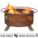 Wake Forest University Wood Burning Fire Pit
