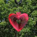 3D Heart Whirligig Wind Spinner