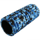 CASL Brands Blue Camo 13-Inch Foam Roller for Releasing Muscle Tension, and Increasing Flexibility