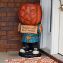 Jack the Scary Pumpkin, Outdoors