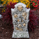 No Rest for the Wicked Tombstone Graveyard Halloween Decoration