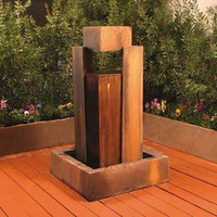 Rocket Outdoor Fountain