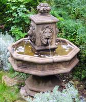 Cast Stone Classic Lion Fountain by Henri Studio