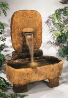 Henri Studio Large Arch Monolith Cast Stone Fountain
