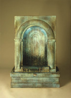 Cast Stone Grotto Falling Diamonds Fountain by Henri Studio