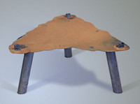 Fire Pit Display Stand - 12 inch