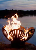 Barefoot Beach Gas Fire Pit by Fire Pit Art