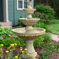 Classic 3-Tier Designer Fountain