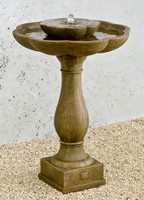 Flores Pedestal Fountain by Campania International