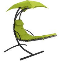 Apple Green Floating Chaise Lounge Chair