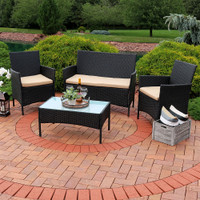 Enmore 4-Piece Lounger Patio Furniture Set