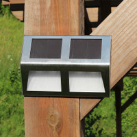 Stainless Steel Mounted Solar LED Light