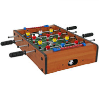 20-Inch Tabletop Foosball Table Game