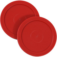 Sunnydaze Large 2.5 Inch Replacement Air Hockey Game Table Pucks - Options