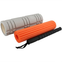 CASL Brands 3-in-1 Foam Roller Set for Releasing Muscle Tension, and Increasing Flexibility