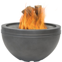 Large Gray Cast Iron Fire Bowl Fire Pit