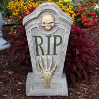 RIP Graveyard Tombstone Halloween Decoration