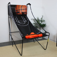 Folding Indoor 2-Player Arcade Basketball Game