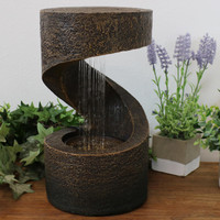 Winding Showers Tabletop Water Fountain