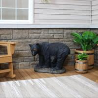 Mama Bear and Cub Rustic Outdoor Garden Statue