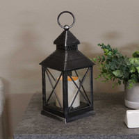 Yorktown Indoor Decorative LED Candle Lantern, Single