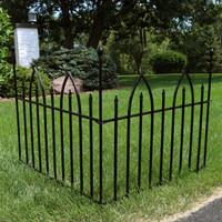 Sunnydaze 2-Piece Gothic Arch Garden Border Fence