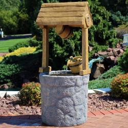 American Outdoor Wishing Well Water Fountain