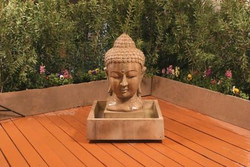 Buddha Head Fountain by Gist Decor