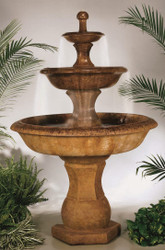 Cast Stone Grande Barrington Fountain by Henri Studio