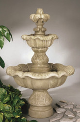 Cast Stone Two Tier Renaissance Fountain by Henri Studio