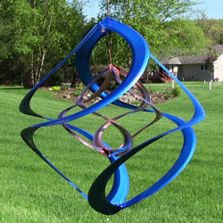 Blue Wind Spinner