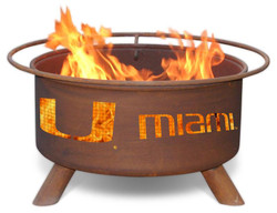 University of Miami Fire Pit