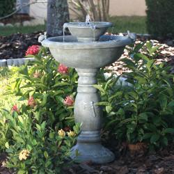 Bird Bath Fountains – Outdoor Fountains with Bird Baths