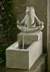 Zen Plinth Fountain by Campania International