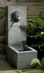 Lion Element Fountain by Campania International