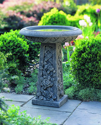Rose Birdbath by Campania International