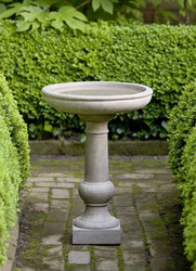 Williamsburg Tea Table Birdbath by Campania International