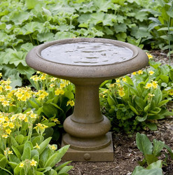 Campania International Williamsburg Summer House Birdbath