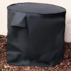 Black Air Conditioner Cover
