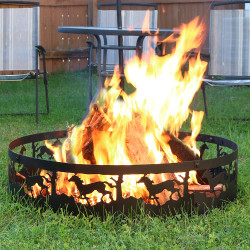 Running Horse Campfire Ring