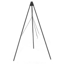 Sunnydaze 55 Inch Tall Tripod Fire Pit Stand with Solid Steel Legs