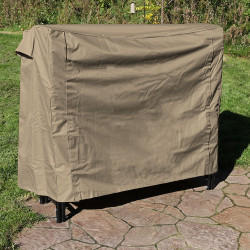 Heavy Duty Firewood Log Rack Cover, Khaki