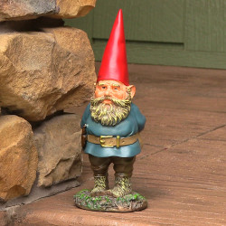 Gus the Original Gnome, 9.5 Inch Tall by Sunnydaze Decor