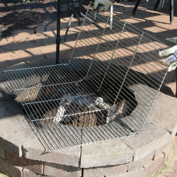 Cooking Grate Shown with Fire Pit