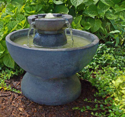Henri Studio Cast Stone Copa Water Fountain