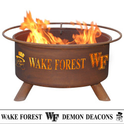 Wake Forest University Wood Burning Fire Pit